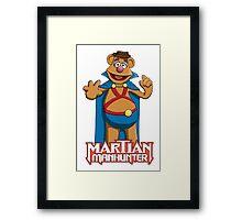 Fozzie Bear the Martian Manhunter Framed Print