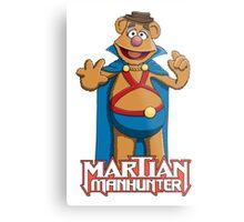 Fozzie Bear the Martian Manhunter Metal Print