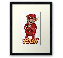 Waldorf the Flash Framed Print
