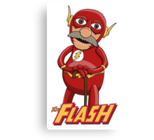 Waldorf the Flash Canvas Print