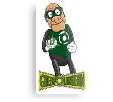 Statler the Green Lantern Metal Print