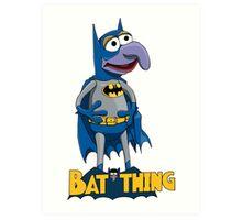 Gonzo the Batman Art Print