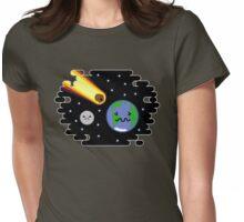 Kawaii Meteor Womens Fitted T-Shirt