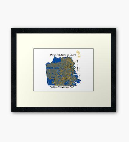 San Francisco  Framed Print