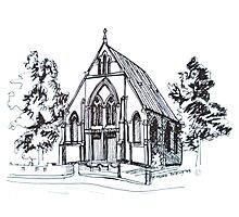 Christ Church Kensington Melbourne. Elizabeth Moore Goldingⓒ Photographic Print