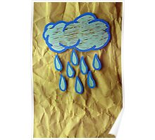 A Rainy Day is A Happy Day Poster
