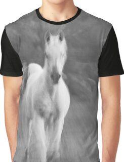 Horse Action Shot Graphic T-Shirt