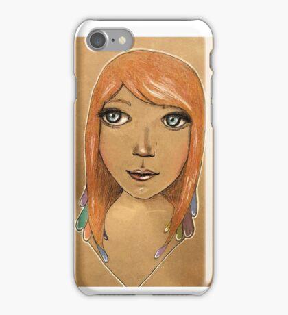 In her eyes iPhone Case/Skin