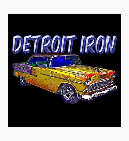 Detroit Iron Photographic Print