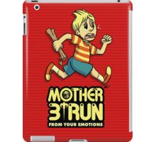 Mother 3- Run... From Your Emotions iPad Case/Skin