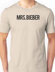 MRS. BIEBER T SHIRT Unisex T-Shirt