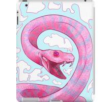 Pink snake iPad Case/Skin