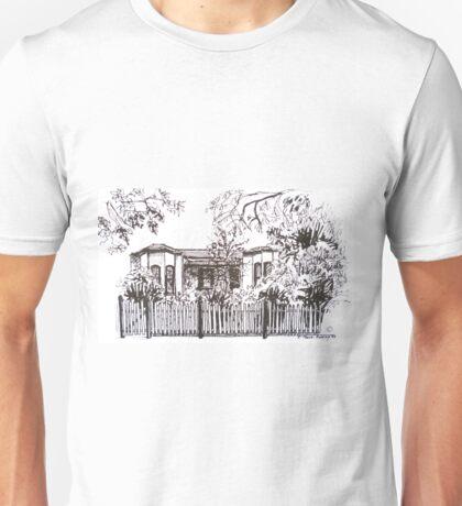 Bellair St Kensington Melbourne. Pen sketch.  Unisex T-Shirt