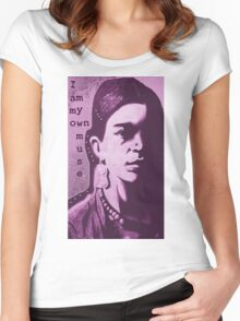 Frida Muse Women's Fitted Scoop T-Shirt