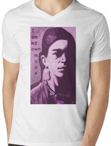 Frida Muse Mens V-Neck T-Shirt