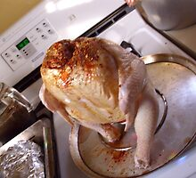beer can chicken by wormink