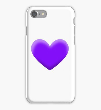 PURPLE HEART iPhone Case/Skin
