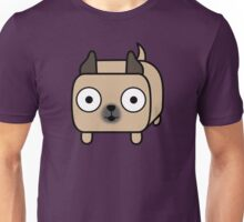 Pit Bull Loaf - Fawn Pitbull with Cropped Ears Unisex T-Shirt