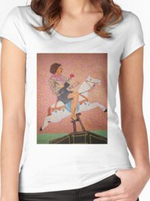 Sidesaddle Women's Fitted Scoop T-Shirt