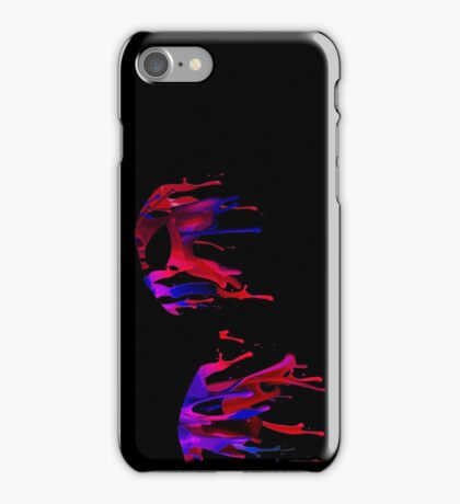 spiderman stain iPhone Case/Skin