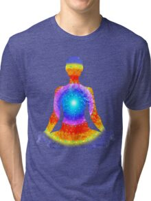 Sunburst Yoga Tri-blend T-Shirt