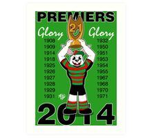 Glory Glory No.21 Art Print