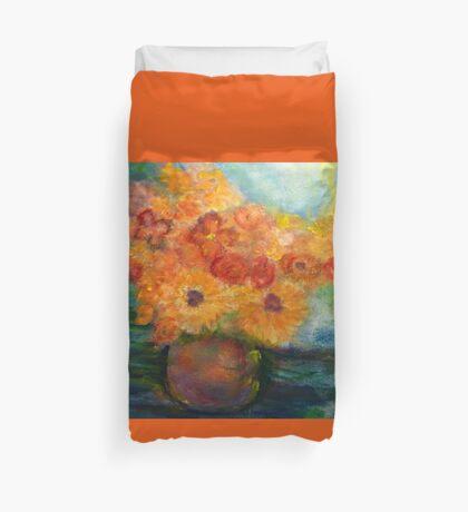Autumn Flowers Art Designed  Duvet Cover