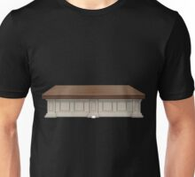 Glitch furniture counter wood top counter Unisex T-Shirt