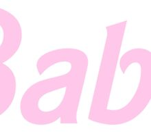 Babe - Pastel Pink by agShop