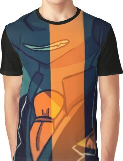 Orange felix  Graphic T-Shirt