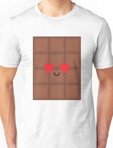 Chocolate Emoji Heart and Love Eye Unisex T-Shirt