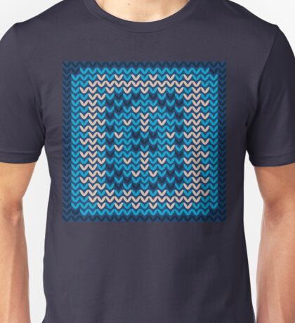 Knitted Decorative Background Unisex T-Shirt