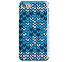 Knitted Decorative Background iPhone Case/Skin