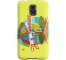 Hello summer and hello sea! Samsung Galaxy Case/Skin