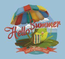 Hello summer and hello sea! One Piece - Short Sleeve