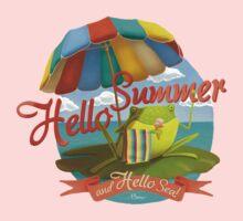 Hello summer and hello sea! One Piece - Long Sleeve