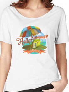 Hello summer and hello sea! Women's Relaxed Fit T-Shirt