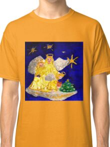 Angels and the Christmas Tree Classic T-Shirt