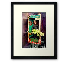 I Know You Are But What Am I Framed Print
