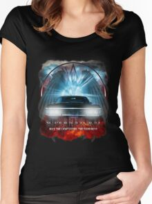 Supernatural May the light expel the darkness Women's Fitted Scoop T-Shirt