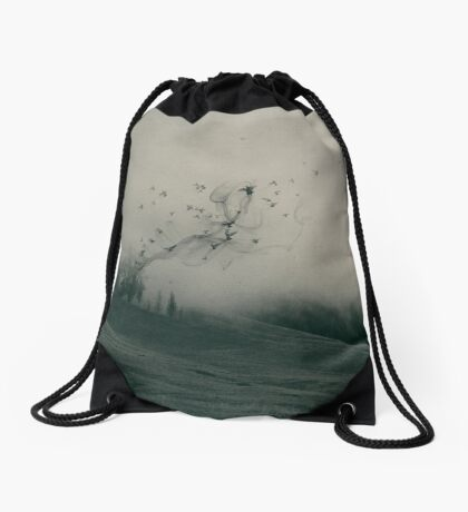 Self And Nature, Releasing My Worries I  Drawstring Bag