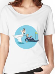 MARRYING GOLFER Women's Relaxed Fit T-Shirt