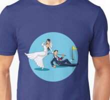 MARRYING GOLFER Unisex T-Shirt