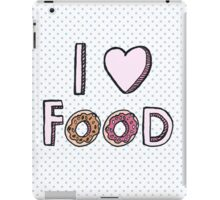 I Love Food iPad Case/Skin