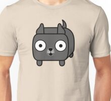 Pit Bull Loaf - Blue Pitbull with Cropped Ears Unisex T-Shirt