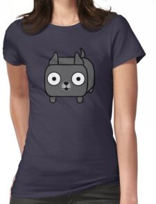 Pit Bull Loaf - Blue Pitbull with Cropped Ears Womens Fitted T-Shirt