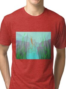 Abzu - Squid Tri-blend T-Shirt