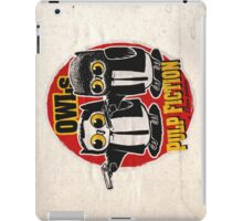 Owls Pulp Fiction iPad Case/Skin