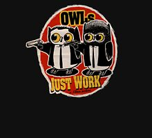 Owls Pulp Fiction Unisex T-Shirt