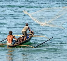Net Fishing by Werner Padarin